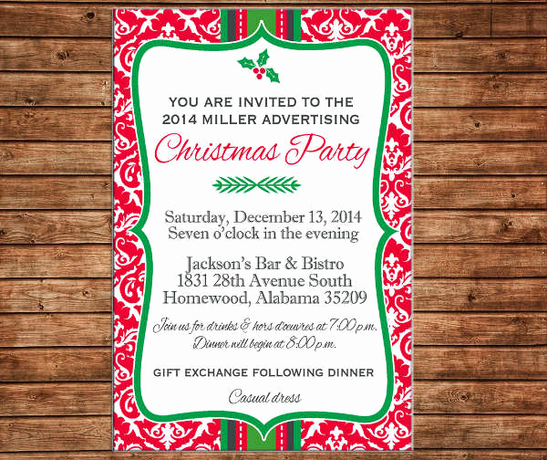 Christmas Dinner Invitation Template Inspirational 9 Business Dinner Invitations Psd Ai Word