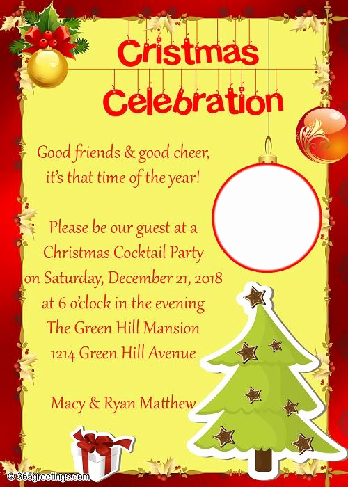 Christmas Eve Party Invitation Best Of Christmas Party Invitations and Christmas Party Invitation
