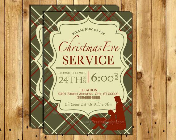 Christmas Eve Party Invitation Lovely Christmas Eve Service Invitation Christmas Eve Candle