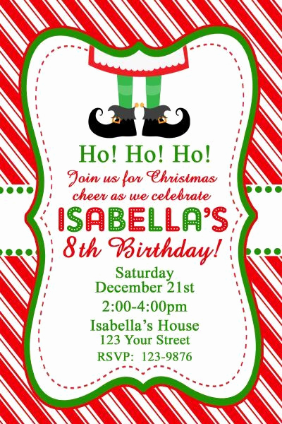 Christmas Party Invitation Idea Awesome 1000 Ideas About December Birthday Parties On Pinterest