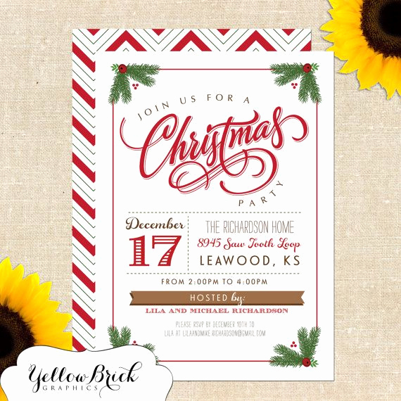 Christmas Party Invitation Idea Lovely Best 25 Christmas Party Invitations Ideas On Pinterest