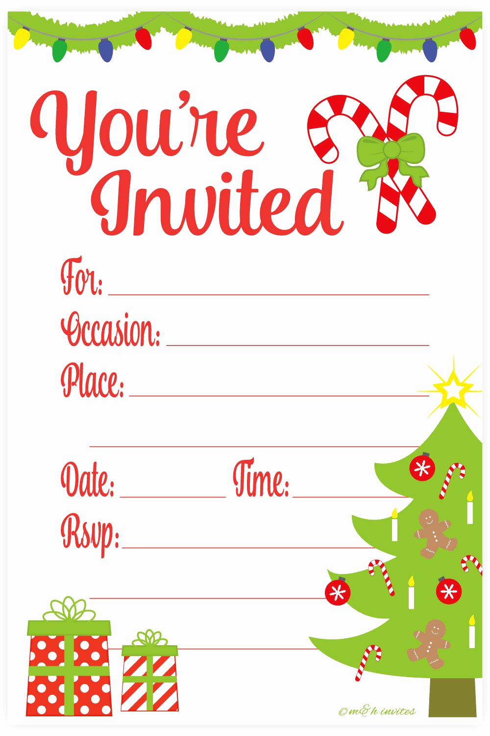Christmas Party Invitation Idea New Amazon Snowflake Classic Christmas Invitations Fill