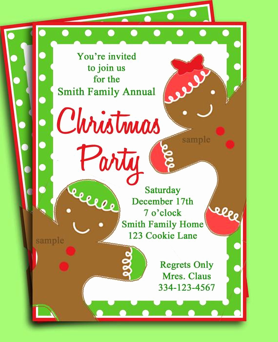 Christmas Party Invitation Idea New Items Similar to Christmas Party Invitation Printable
