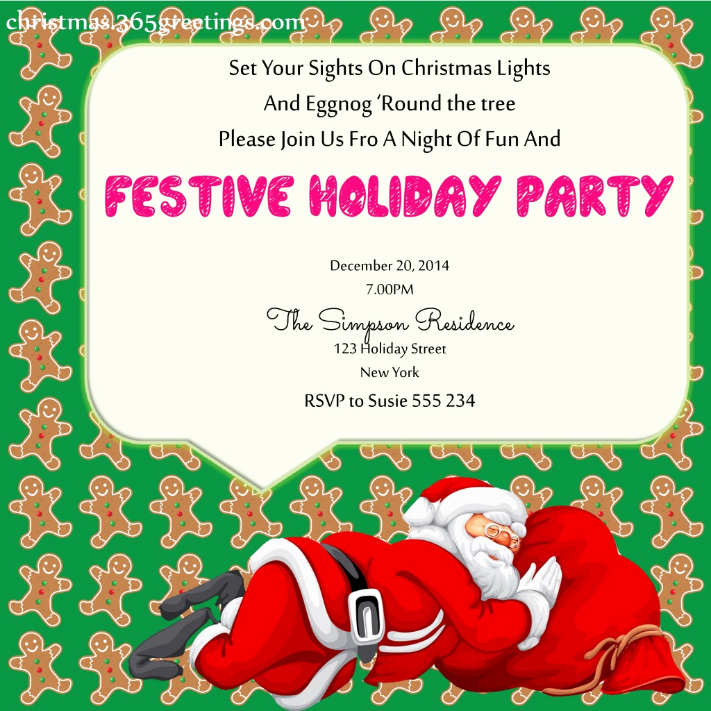 Christmas Party Invitation Ideas Awesome Christmas Party Invitation Ideas Christmas Celebration
