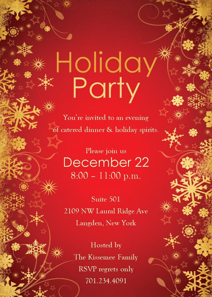Christmas Party Invitation Ideas Elegant 25 Best Ideas About Christmas Party Invitations On