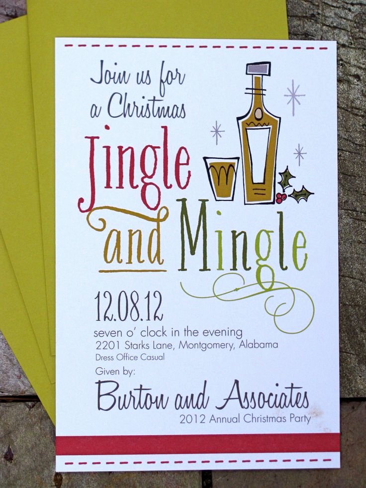Christmas Party Invitation Ideas Fresh 25 Best Ideas About Christmas Party Invitations On