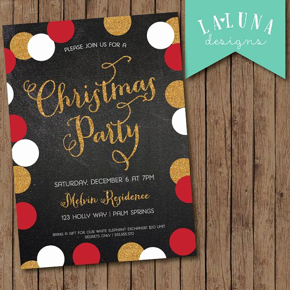 Christmas Party Invitation Ideas Inspirational Best 25 Christmas Party Invitations Ideas On Pinterest