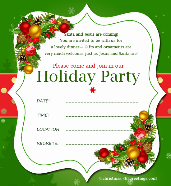 Christmas Party Invitation Ideas Luxury Christmas Invitation Template and Wording Ideas