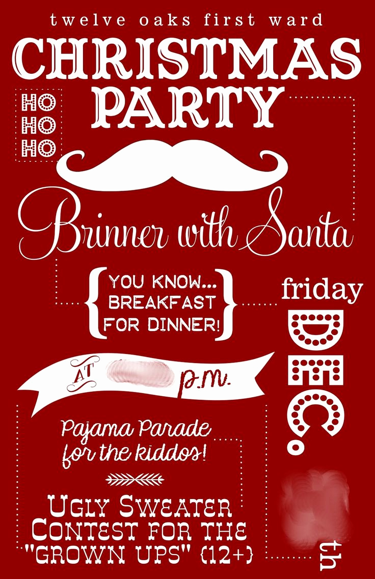 Christmas Party Invitation Ideas New 17 Best Ideas About Christmas Party Invitations On