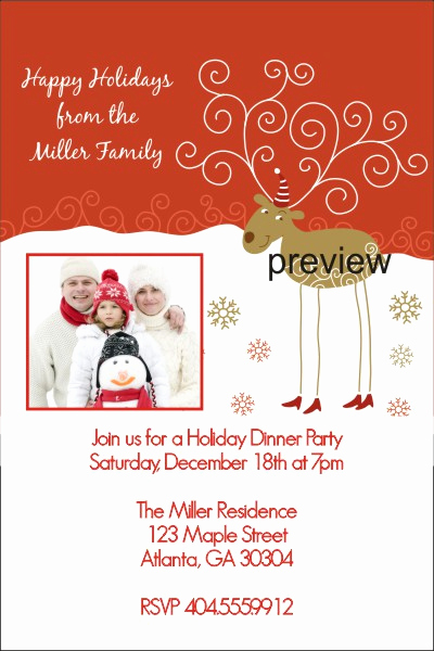 Christmas Party Invitation Wording Fresh Custom Archives