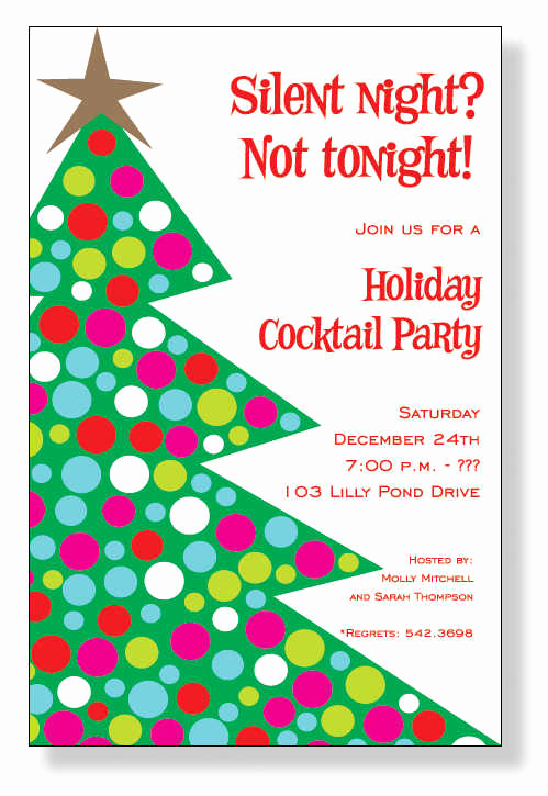Christmas Party Invitation Wording Luxury Christmas Invitations Christmas Invitations for Special