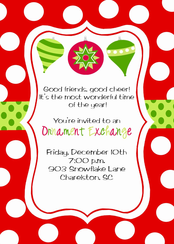 Christmas Party Invitation Wording Unique Christmas Party Invitations