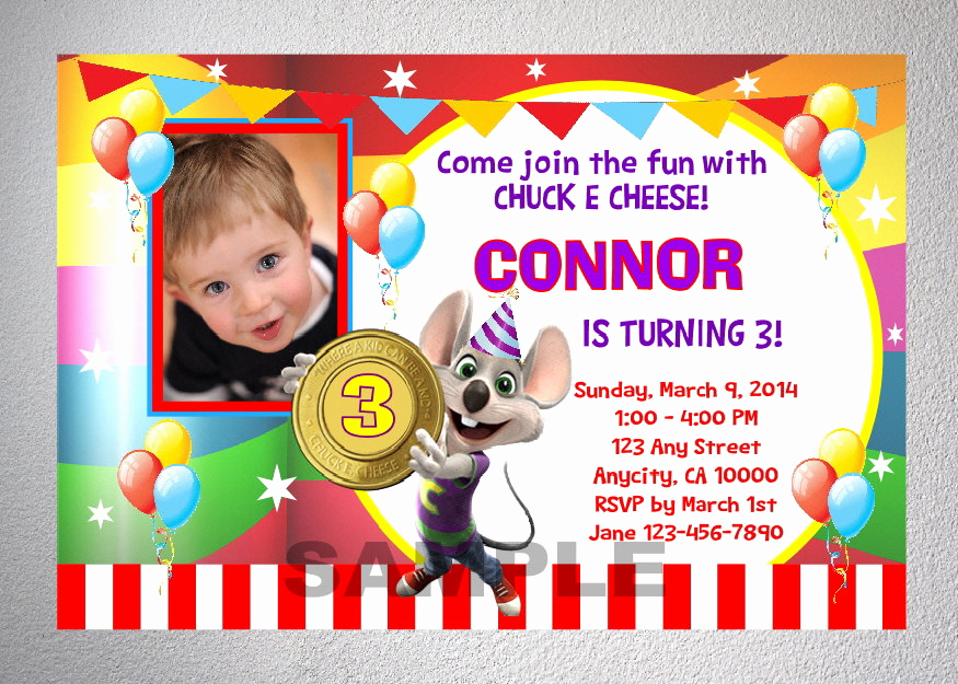 Chuck E Cheese Party Invitation Beautiful Chuck E Cheese Invitation Printable Chuck E by Dpiexpressions