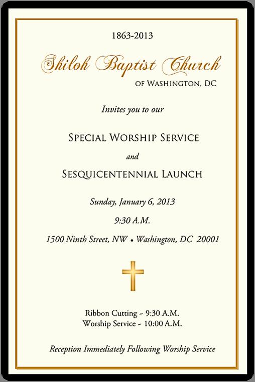 Church Anniversary Invitation Cards Fresh 7 Best S Of Pastors Appreciation Letters Invitations
