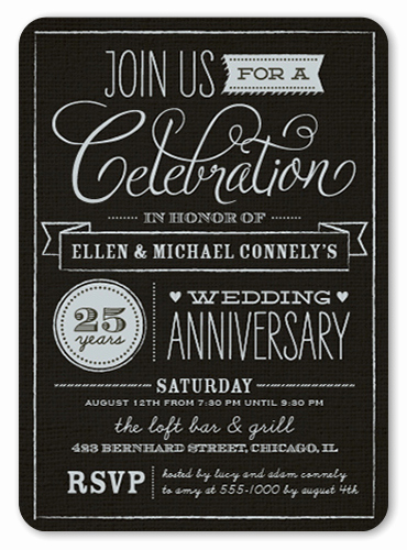Church Anniversary Invitation Cards Lovely Wonderful Years 5x7 Anniversary Invitations