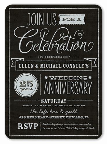 Church Anniversary Invitation Cards Lovely Wonderful Years 5x7 Anniversary Invitations