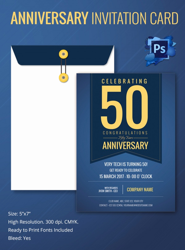 Church Anniversary Invitation Cards Unique Sample Invitation Template Download Premium and Free