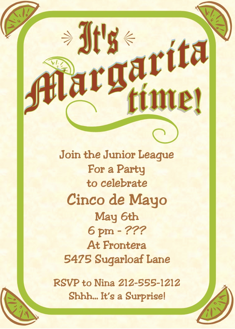 Cinco De Mayo Invitation Inspirational Cinco De Mayo Party Invitations New for May 5 2018