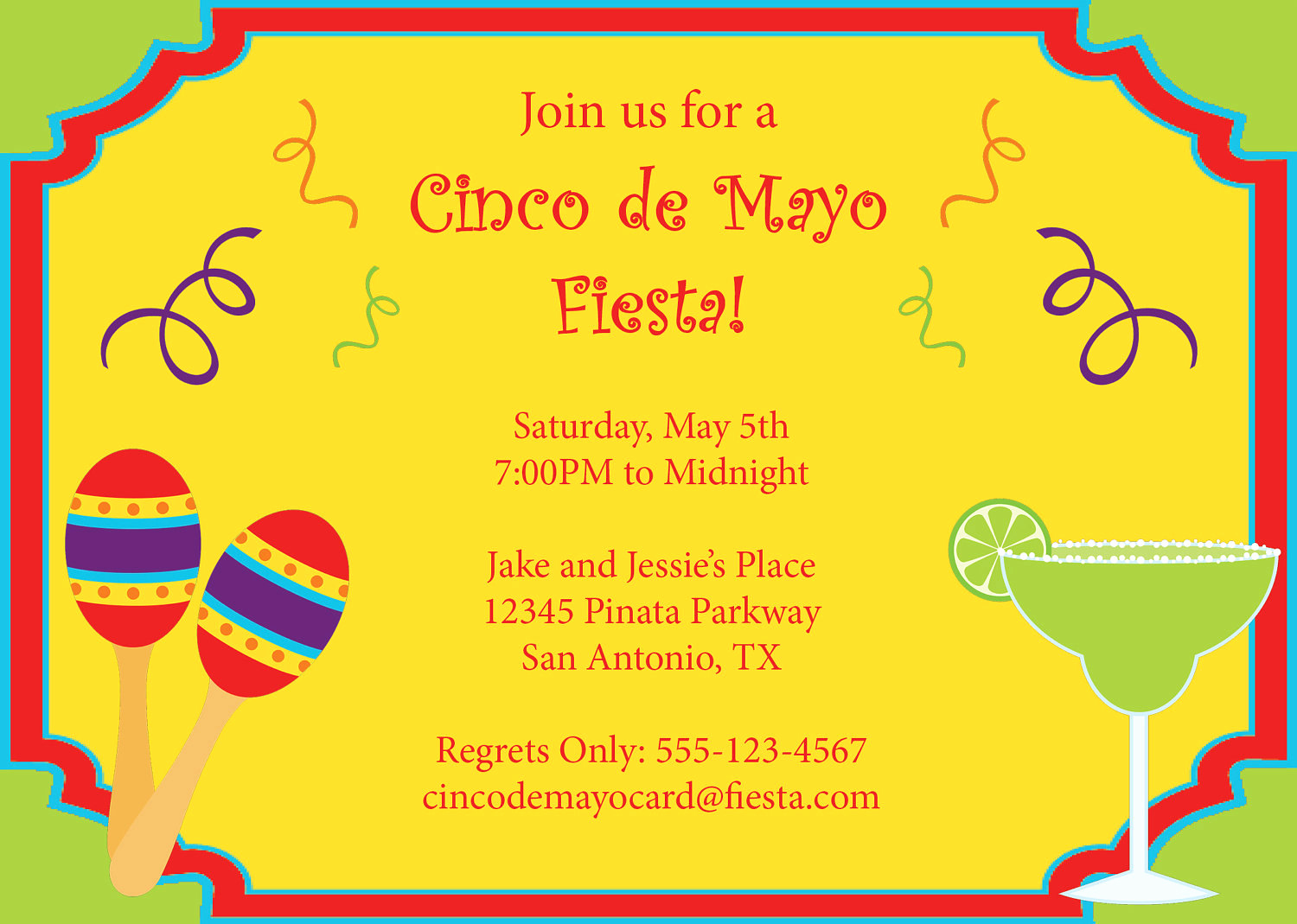 Cinco De Mayo Invitation Lovely Cinco De Mayo Invitation Printable Diy by Cowprintdesigns