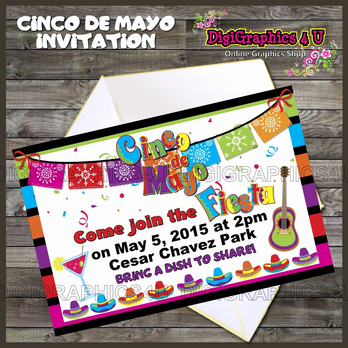Cinco De Mayo Invitation Luxury Fiesta Time Cinco De Mayo Party Invitation Printable