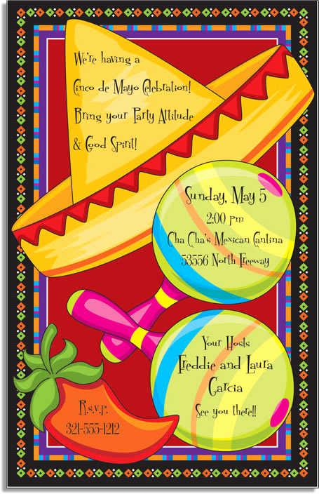 Cinco De Mayo Invitation Template Beautiful Mardi Gras Party themes & themed Invitations