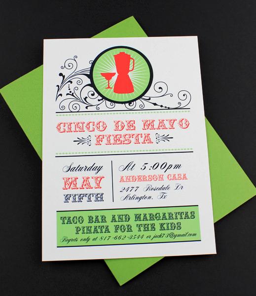 Cinco De Mayo Invitation Template Lovely Cinco De Mayo Invitation Template Margarita Shaker
