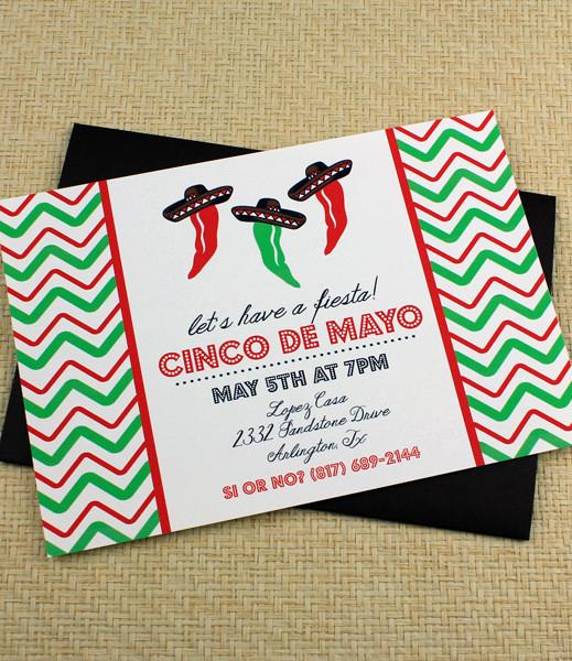 Cinco De Mayo Invitation Template Luxury Cinco De Mayo Invitation Template Dancing Jalapeno