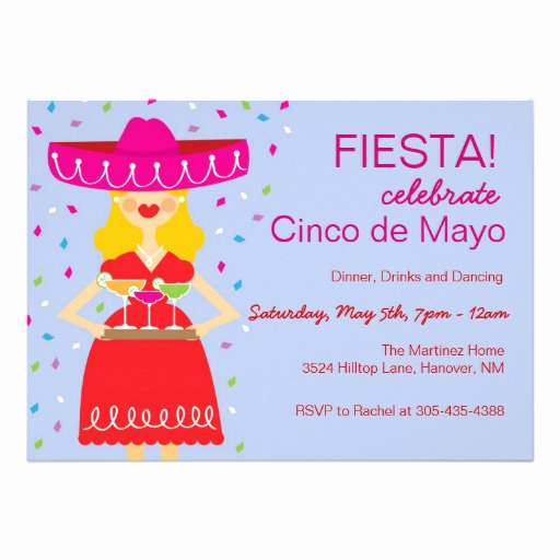 Cinco De Mayo Invitation Wording Best Of Cinco De Mayo Margarita Invitations