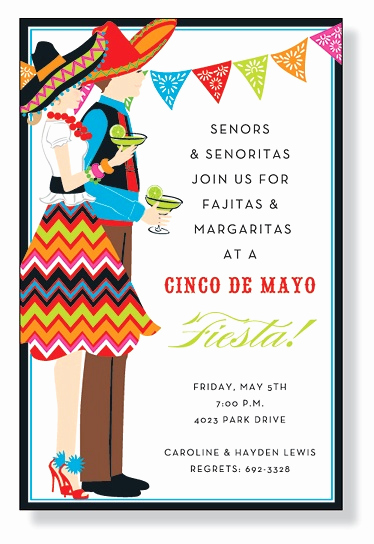 Cinco De Mayo Invitation Wording Fresh Celebrate Cinco De Mayo or Any Other Fiesta with This Flat