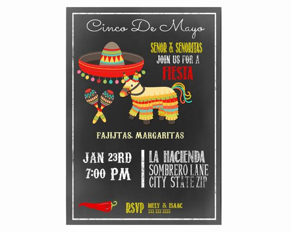 Cinco De Mayo Invitation Wording Inspirational 161 Best Images About Cinco De Mayo Invitations On