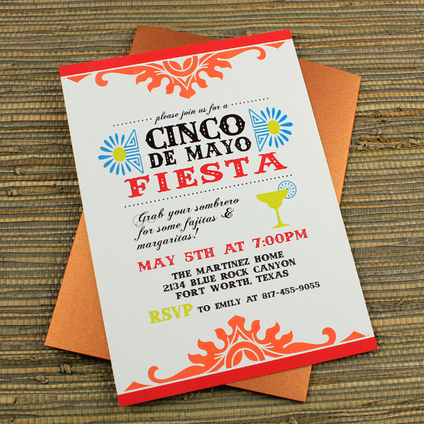 Cinco De Mayo Invitation Wording Inspirational Cinco De Mayo Fiesta Invitation Template – Download & Print