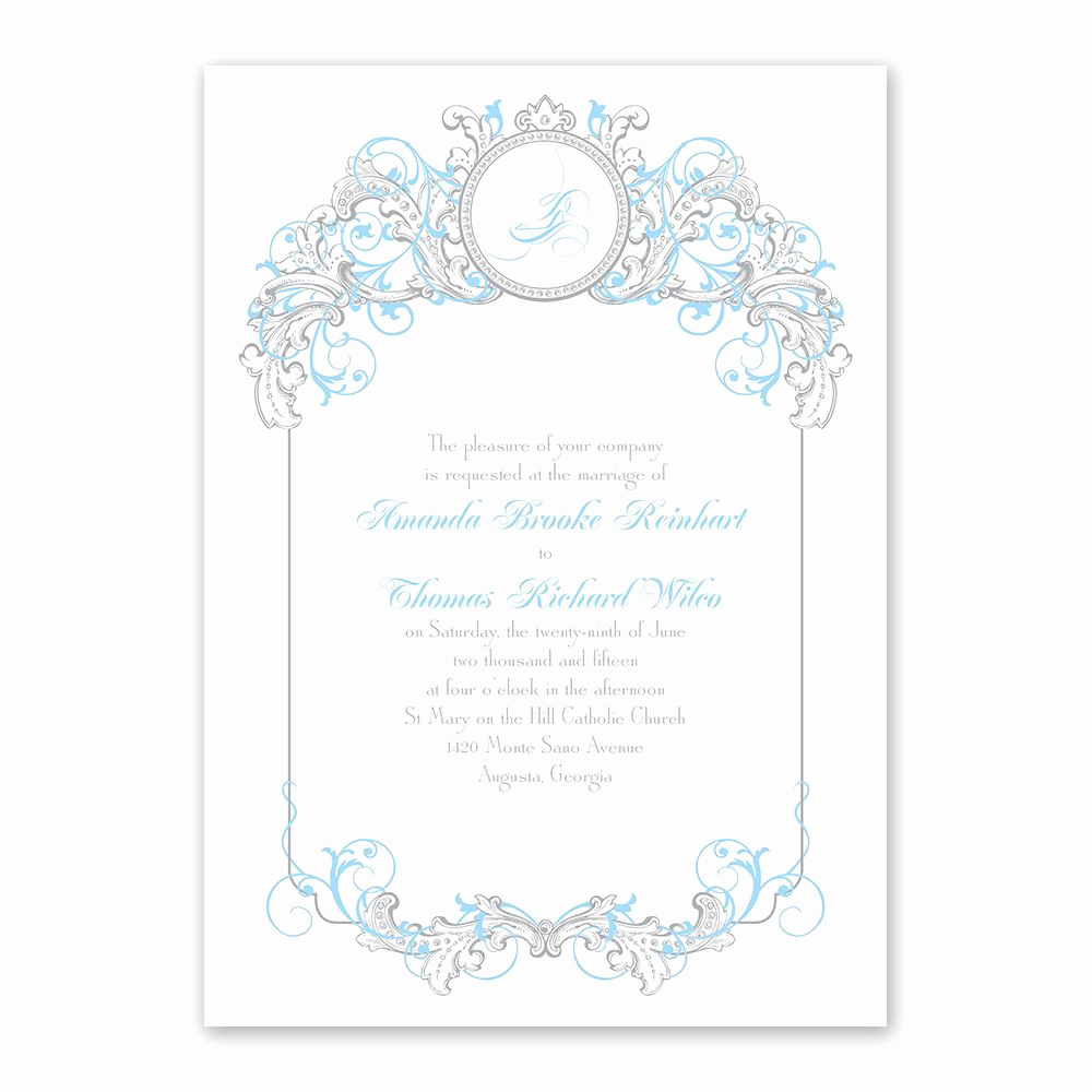 Cinderella Invitation Template Free Beautiful Disney Fairy Tale Filigree Invitation Cinderella