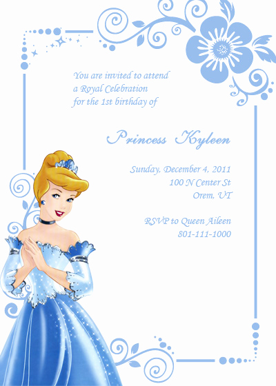 Cinderella Invitation Template Free Best Of Cinderella Birthday Invitation ← Wedding Invitation