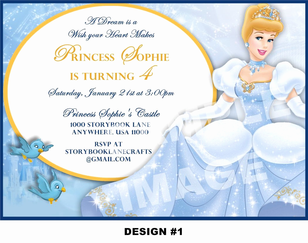 Cinderella Invitation Template Free Inspirational Cinderella Birthday Invitation Wording
