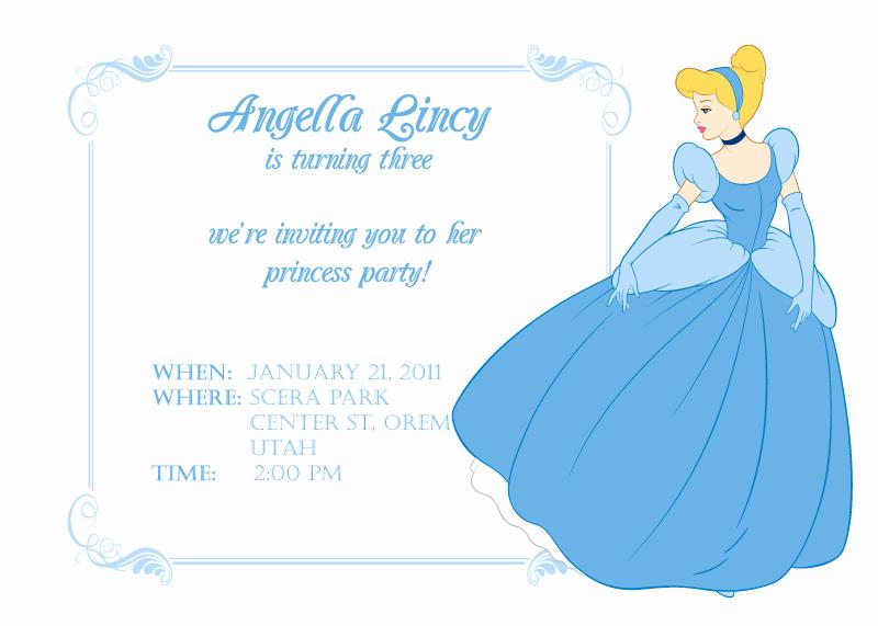 Cinderella Invitation Template Free Unique Cinderella Birthday Invitation ← Wedding Invitation