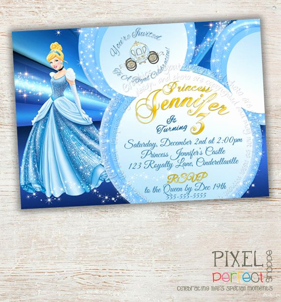 Cinderella Invitation to the Ball Fresh 42 Best Images About Cinderella Party On Pinterest