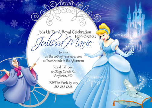 Cinderella Invitation to the Ball New Cinderella Birthday Invitations Ideas – Free Printable