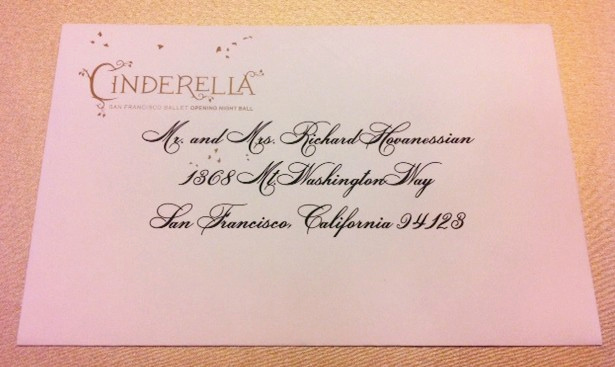 Cinderella Invitation to the Ball New Sf Ballet S Cinderella Ball Opening Night Invivitation