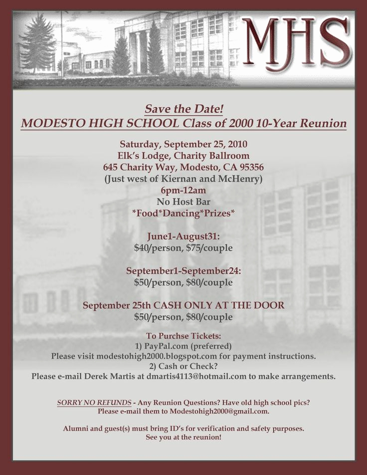 Class Reunion Invitation Ideas Awesome 93 Best Ghs Reunion Ideas Images On Pinterest