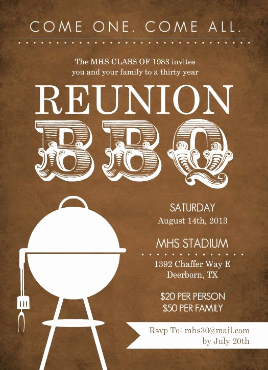 Class Reunion Invitation Ideas Awesome Unique Class Reunion Invitations