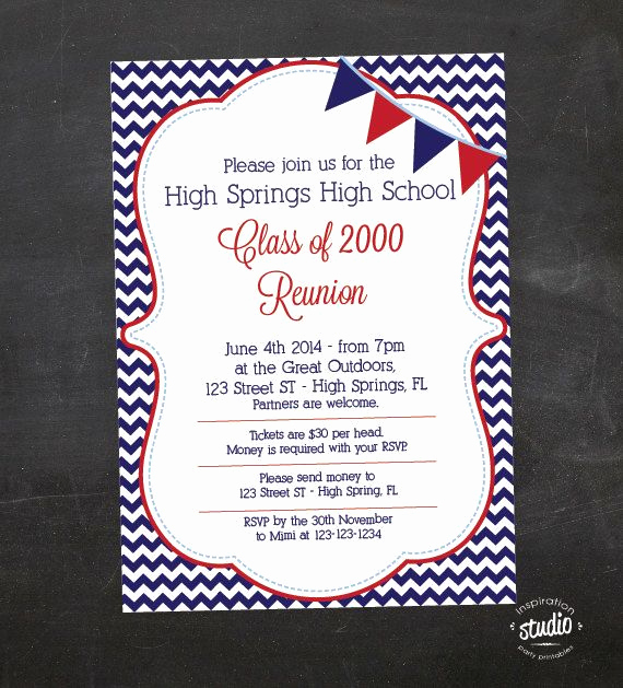 Class Reunion Invitation Ideas New 25 Best Ideas About Class Reunion Invitations On