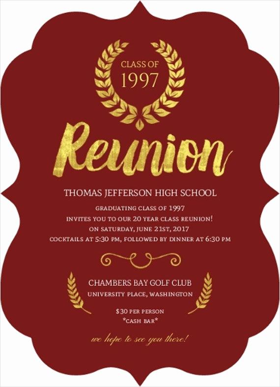 Class Reunion Invitation Templates Awesome 12 Reunion Invitation Templates Psd Ai Vector Eps