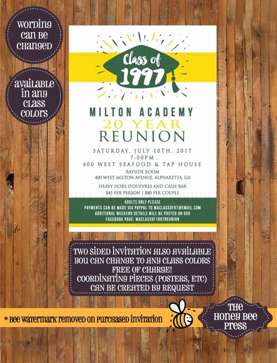 Class Reunion Invitation Wording Beautiful Best 25 Class Reunion Invitations Ideas On Pinterest
