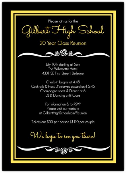 Class Reunion Invitation Wording New Best 25 Class Reunion Invitations Ideas On Pinterest