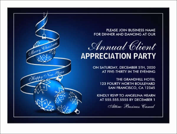 Client Appreciation event Invitation Beautiful Customer Appreciation Dinner Invitation Template