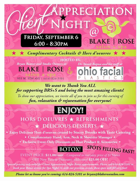 Client Appreciation event Invitation Lovely Client Appreciation Party This Friday