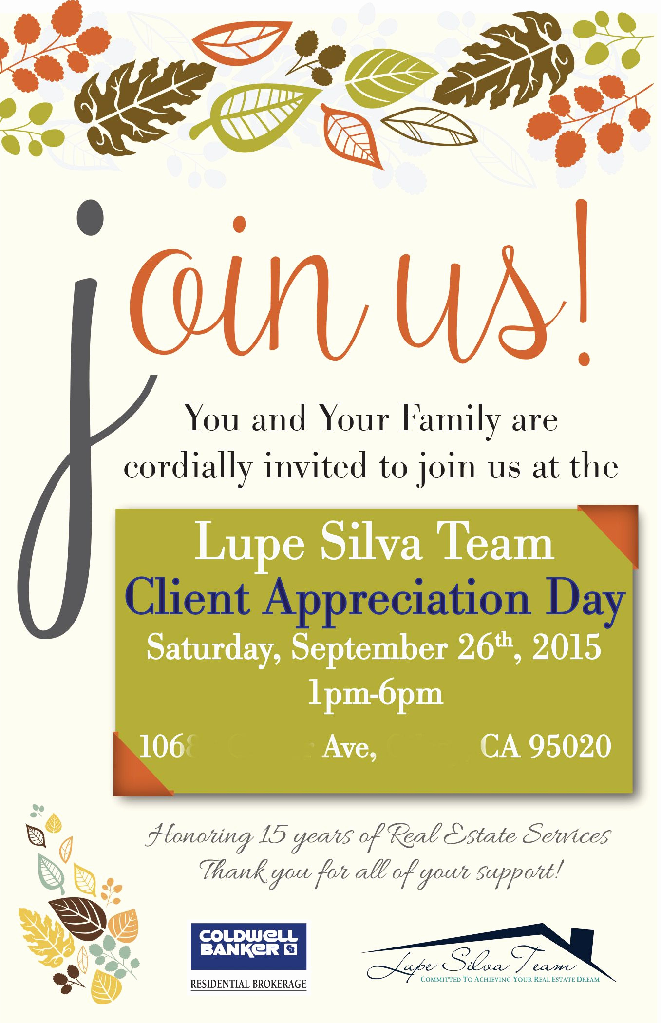 Client Appreciation event Invitation New Pin On Client Appreciation Party