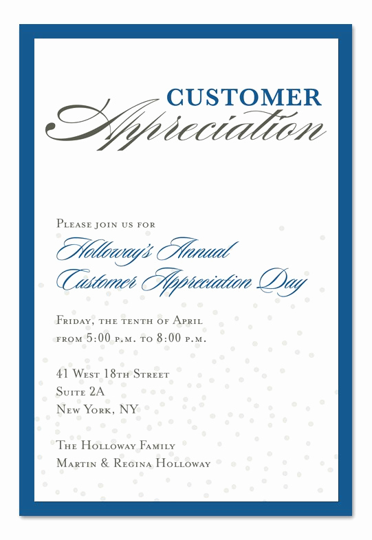 Client Appreciation event Invitation Unique Sample Appreciation Luncheon Invitation