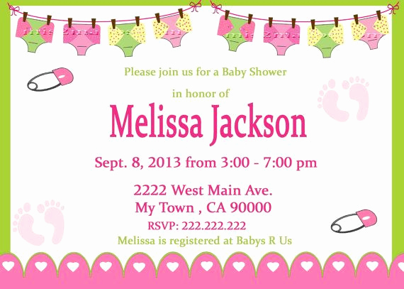 Cloth Diaper Baby Shower Invitation Fresh 22 Best Images About Cloth Diaper Baby Shower On Pinterest