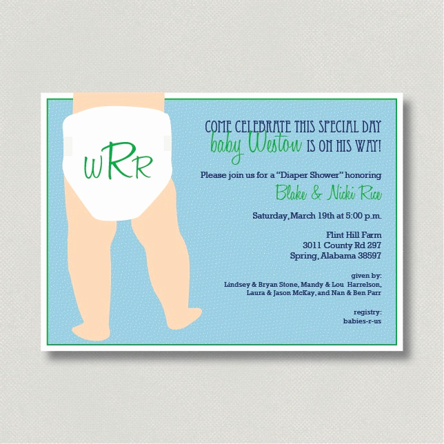 Cloth Diaper Baby Shower Invitation Inspirational 17 Best Images About Diaper Shower On Pinterest